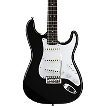 Vintage Modified Stratocaster Electric Guitar Black Rosewood Fretboard