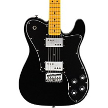 Vintage Modified Telecaster Deluxe Electric Guitar Black Maple Fingerboard