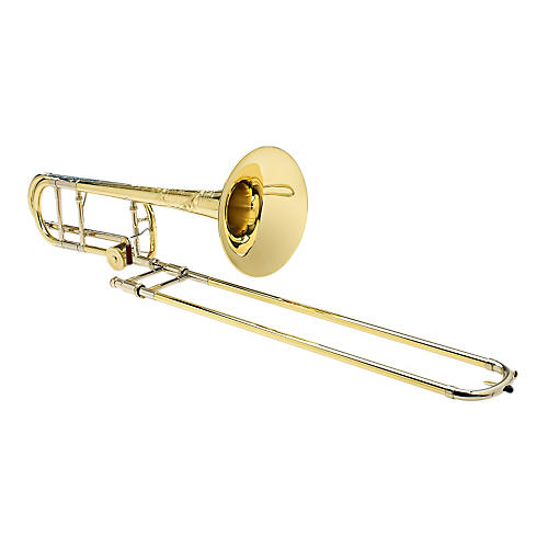 S.E. SHIRES Vintage New York Tenor Trombone in Yellow Brass with F Attachment