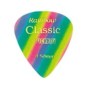 Pick Boy Vintage Pick Celluloid Rainbow (10-pack)