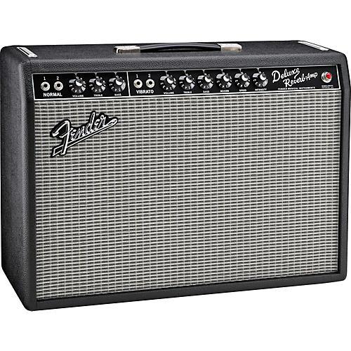 Fender Vintage Reissue '65 Deluxe Reverb Guitar Combo Amp Black