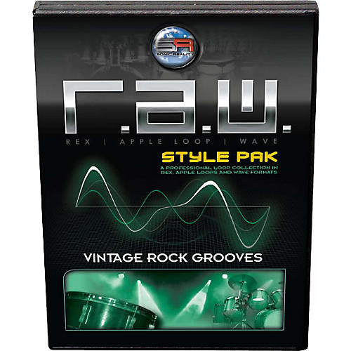 Sonic Reality Vintage Rock Grooves R.A.W. Style Pak