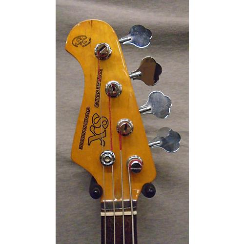SX Vintage Series Bass Electric Bass Guitar Metallic Blue