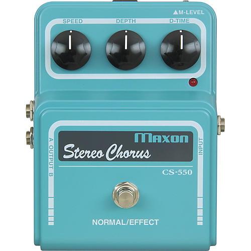 Maxon Vintage Series CS550 Stereo Chorus Pedal-thumbnail