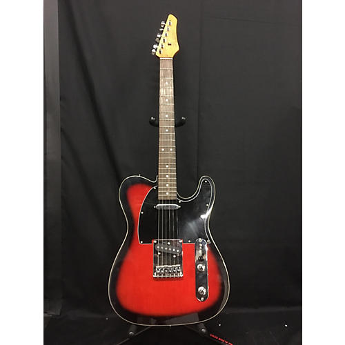 SX Vintage Series Single Cut Solid Body Electric Guitar