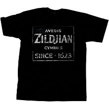 Zildjian Vintage Sign T-Shirt Black Large