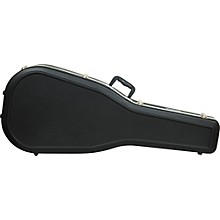 Road Runner Vintage Style Dreadnought Molded Guitar Case