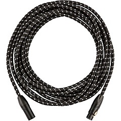 Vintage Voltage Microphone Cable - Black Tweed 20 ft.