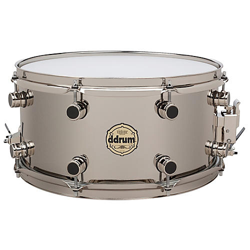 ddrum Vintone Nickel Over Brass Snare Drum Nickel over Brass 7x14