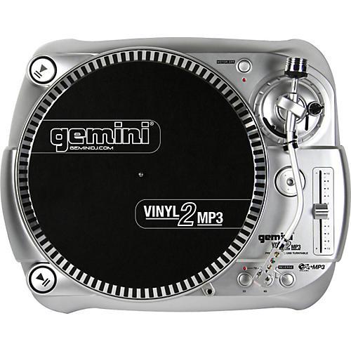 Gemini Vinyl2MP3 USB Turntable