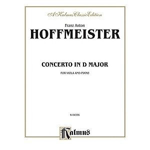 Alfred Viola Concerto in D Major for Viola Viola Concerto in D Major Book by Alfred