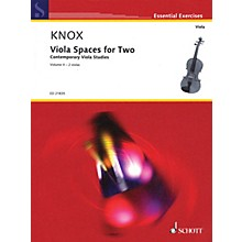 Schott Viola Spaces for Two (Performance Score) String Series Softcover Composed by Garth Knox
