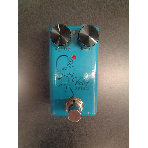 Red Witch Violet Delay Effect Pedal-thumbnail