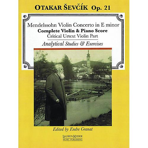 Lauren Keiser Music Publishing Violin Concerto in E minor LKM Music Series Softcover Written by Otakar Sevcik