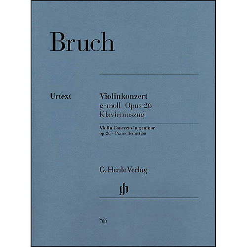 G. Henle Verlag Violin Concerto in G Minor Op. 26 By Bruch-thumbnail