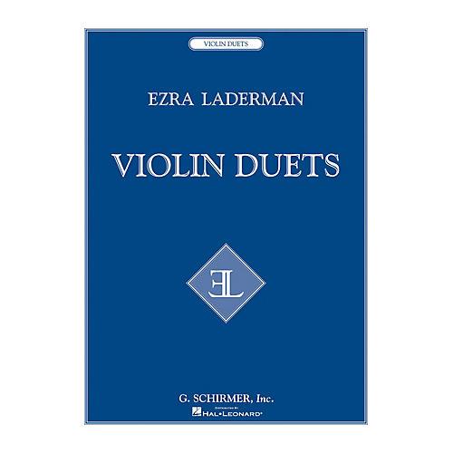 G. Schirmer Violin Duets String Series Composed by Ezra Laderman