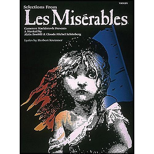 Hal Leonard Violin Selections From Les Miserables-thumbnail