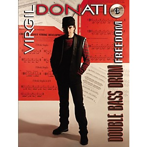 Alfred Virgil Donati Double Bass Drum Freedom Book/CD