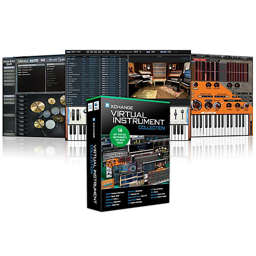 XCHANGE Virtual Instrument Collection with Arturia, Cakewalk, D16 Group, Ohm Force, Steven Slate, Sugar Bytes, and UVI-thumbnail