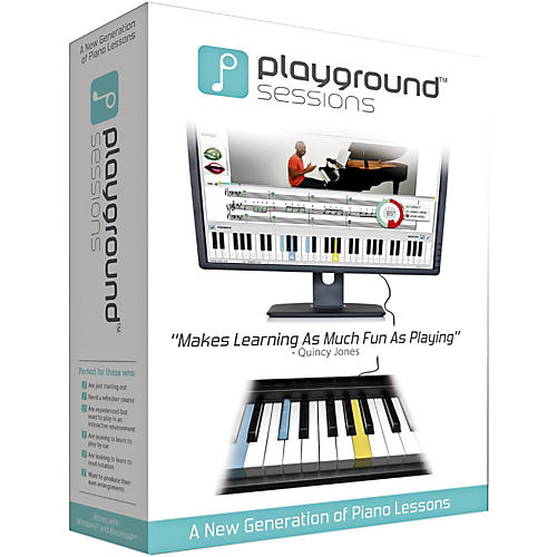 Playground Sessions Virtual Piano Lessons PC/Mac Software Download