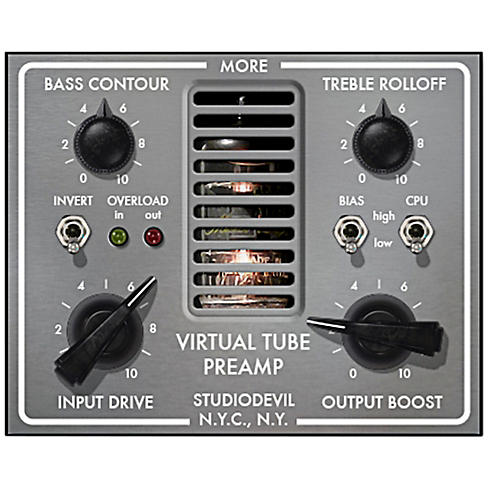 Studio Devil Virtual Tube Preamp Software Download-thumbnail