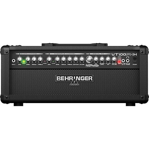 Behringer Virtube VT100FXH 100W Guitar Amplifier Head-thumbnail