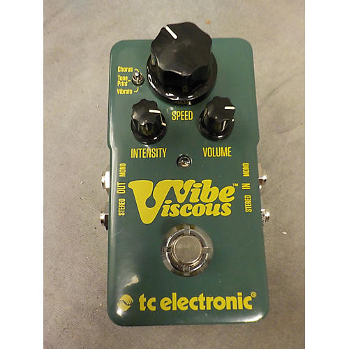 TC Electronic Viscous Vibe Effect Pedal-thumbnail