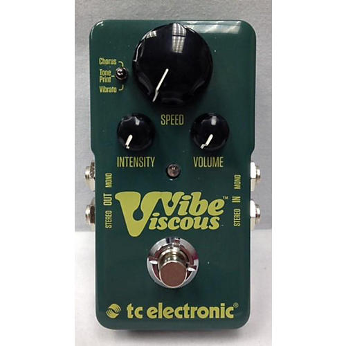 TC Electronic Viscous Vibe Effect Pedal