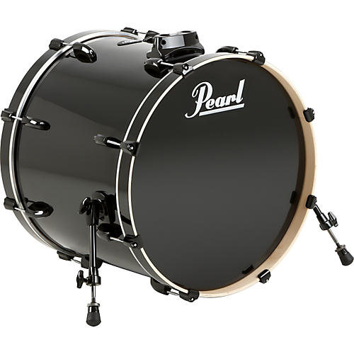 Pearl Vision Birch Bass Drum Jet Black 24x18