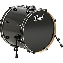 Pearl Vision Birch Bass Drum Level 1 Jet Black 22x18