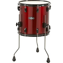 Pearl Vision Birch Floor Tom Level 1 Wine Red 18 x 16 in.