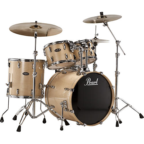 Pearl Vision Birch Lacquer 5-Piece New Fusion Shell Pack-thumbnail