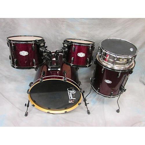 Pearl Vision Drum Kit Wine Red