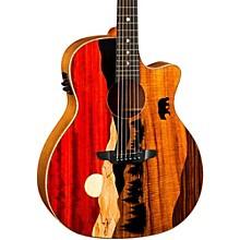 Luna Guitars Vista Bear Acoustic-Electric Guitar