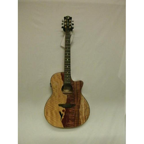 Luna Guitars Vista Eagle Acoustic Electric Guitar-thumbnail