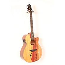 Luna Guitars Vista Eagle Koa Back and Sides Acoustic-Electric Guitar Level 2 Regular 888366066232
