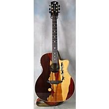 Luna Guitars Vista Mustang Acoustic Electric Guitar