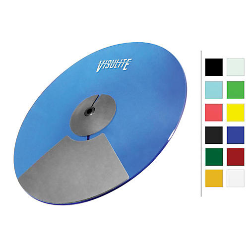 Pintech VisuLite Professional Dual Zone Ride Cymbal 18 in. Translucent Green