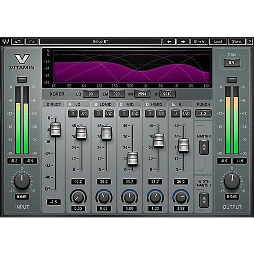 Waves Vitamin Sonic Enhancer Native/SG Software Download