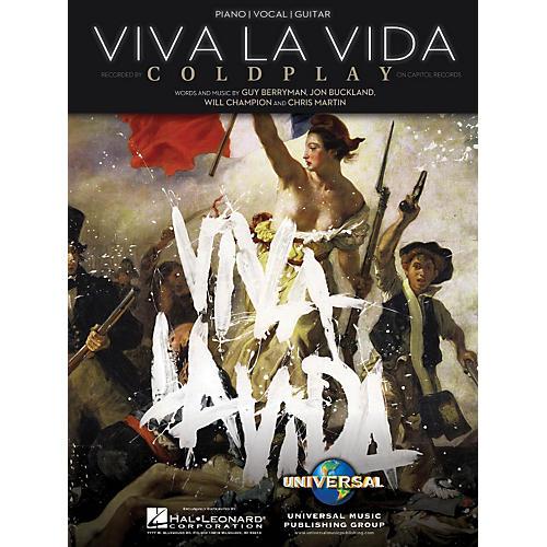 Hal Leonard Viva La Vida by Coldplay Arranged for Piano, Vocal and Guitar