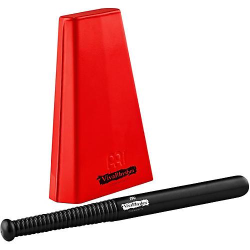 Meinl VivaRhythm Red Handheld Cowbell with Beater
