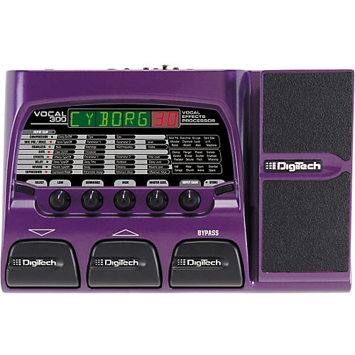 digitech vocal 300 vocal effects processor guitar center. Black Bedroom Furniture Sets. Home Design Ideas