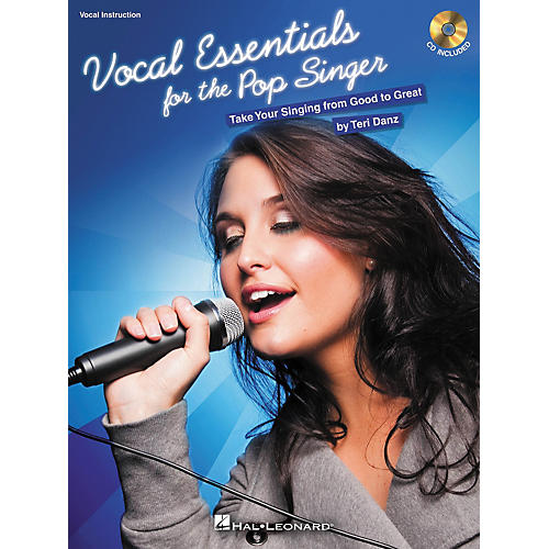 Hal Leonard Vocal Essentials For The Pop Singer: Take Your Singing From Good To Great (Bk/CD)-thumbnail