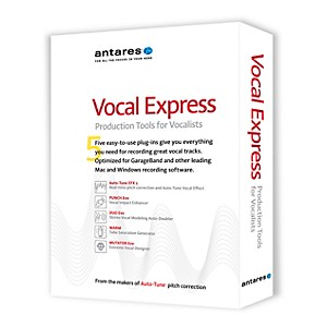 Antares Vocal Express Production Tools for Vocalists by Antares