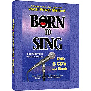 Born to Sing Vocal Master Course DVD + 5 CDs + Book