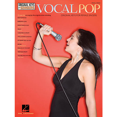 Hal Leonard Vocal Pop - Original Keys For Female Singers-thumbnail