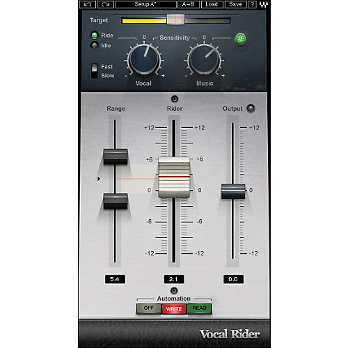 Waves Vocal Rider Native/TDM/SG Software Download