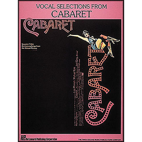 Hal Leonard Vocal Selections From Cabaret Songbook - Piano, Vocal, and Guitar-thumbnail