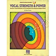 Hal Leonard Vocal Strength & Power - Boost Your Singing with Proper Technique & Breathing (Book/CD)