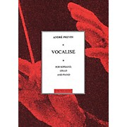 Music Sales Vocalise for Soprano, Cello and Piano Music Sales America Series